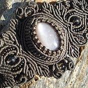 Украшения ручной работы. Ярмарка Мастеров - ручная работа Браслет с  лунным камнем. Handmade.