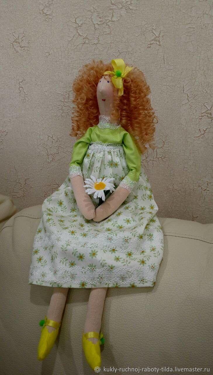 Девушка Лето, Куклы Тильда, Уфа,  Фото №1