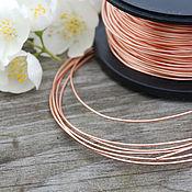 Материалы для творчества handmade. Livemaster - original item 1,0 mm copper wire. Handmade.