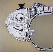 Картины и панно ручной работы. Ярмарка Мастеров - ручная работа Мистер Рыб. Handmade.