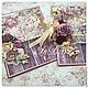 """Открытки на все случаи жизни ручной работы. Ярмарка Мастеров - ручная работа. Купить Большая открытка """"Брусничные розы"""". Handmade."""