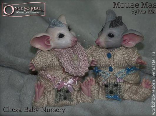 Куклы и игрушки ручной работы. Ярмарка Мастеров - ручная работа. Купить молд мышь, молд реборн, молд для реборна.. Handmade.