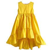 """Одежда ручной работы. Ярмарка Мастеров - ручная работа Платье для девочки """"Моё Солнышко"""". Handmade."""