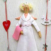 Куклы и игрушки ручной работы. Ярмарка Мастеров - ручная работа Банная фея (кукла Тильда). Handmade.