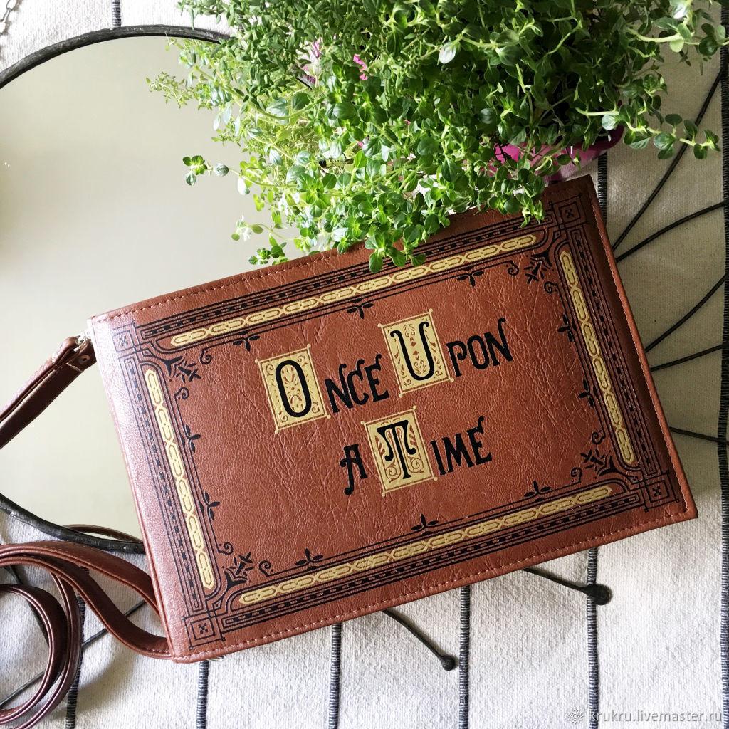 Сумка Книга Сказок Once Upon a Time, Классическая сумка, Москва,  Фото №1