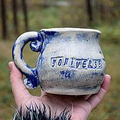Посуда handmade. Livemaster - original item Yoni mug. Handmade.