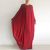 Одежда handmade. Livemaster - original item Long dress with drape HARMONIKA. Handmade.