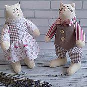 Куклы и игрушки ручной работы. Ярмарка Мастеров - ручная работа Кошачья  парочка. Handmade.