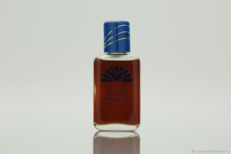 FOLIES BERGERE (BOURJOIS) perfume water (EDP) 50 ml VINTAGE, Vintage perfume, St. Petersburg,  Фото №1