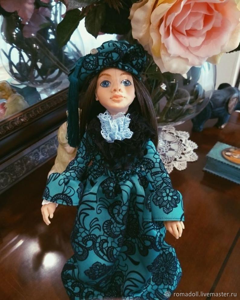 Интерьерная кукла Лея, Портретная кукла, Десногорск,  Фото №1