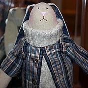"""Куклы и игрушки ручной работы. Ярмарка Мастеров - ручная работа Заяц """"Антон"""". Handmade."""