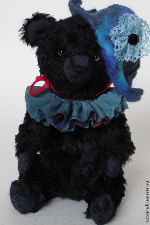 Мишки Тедди ручной работы. Ярмарка Мастеров - ручная работа. Купить Медведь Тео 21 см. Handmade. Черный