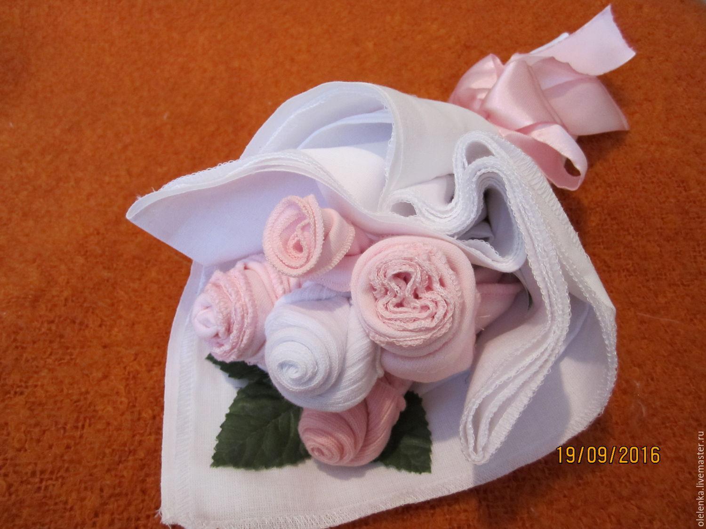 Букеты подарки с новорожденным