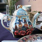 Посуда handmade. Livemaster - original item The tea pot porcelain