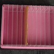 Материалы для творчества ручной работы. Ярмарка Мастеров - ручная работа Форма б/у силиконовая со вставками, на 2 л мыла. Handmade.