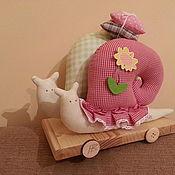 Куклы и игрушки ручной работы. Ярмарка Мастеров - ручная работа Улитки Тильды. Handmade.