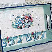 Для дома и интерьера handmade. Livemaster - original item Tea Collection Tray. Handmade.