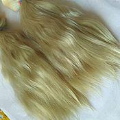 Материалы для творчества ручной работы. Ярмарка Мастеров - ручная работа Волосы для кукол, мохер. Handmade.