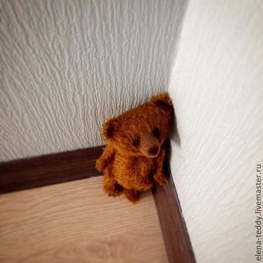 Мишки Тедди ручной работы. Ярмарка Мастеров - ручная работа. Купить Пряничек. Handmade. Коричневый, мишка, Керамика, керамические бусины