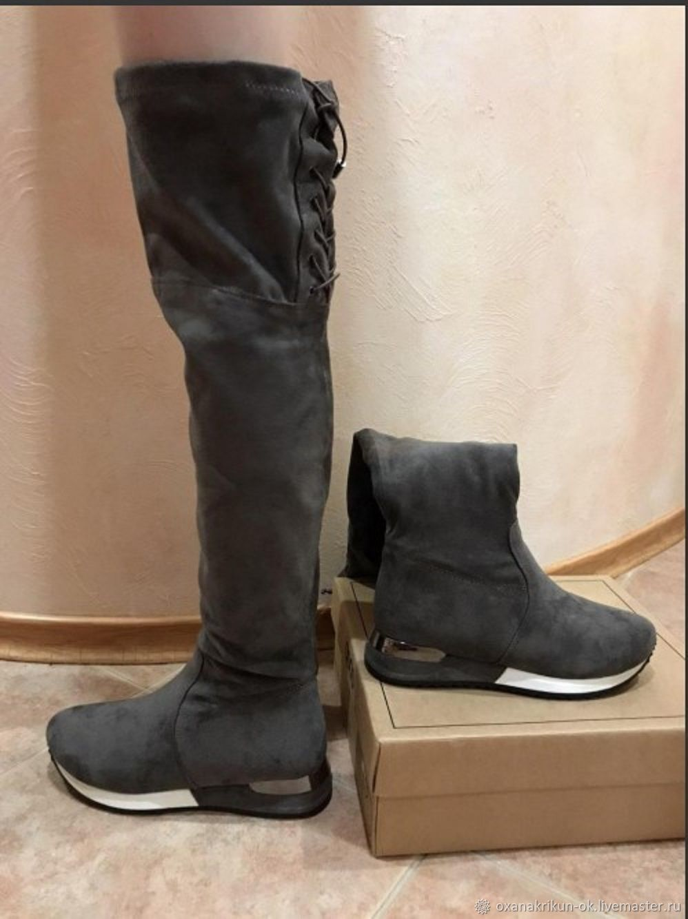 New boots, Knee-high boots, Nizhny Novgorod,  Фото №1