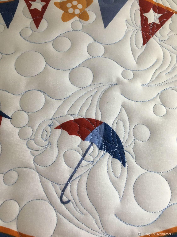 Bedspread in the nursery 'On the seas and oceans.', Blankets, Yaroslavl,  Фото №1