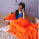 Текстиль, ковры ручной работы. Заказать Комплект Лисья Нора. Лариса (EnigmaStyle). Ярмарка Мастеров. Лисья нора, подушка-игрушка