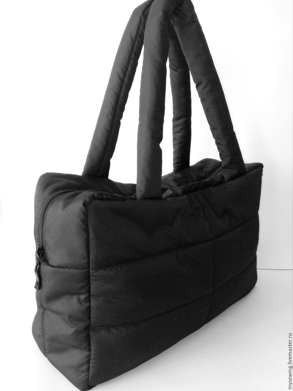 23486c3b2fcc Женские сумки ручной работы. Ярмарка Мастеров - ручная работа. Купить Сумка  дутая спортивная.