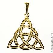 Фен-шуй и эзотерика handmade. Livemaster - original item Triksele in a circle gold. Handmade.