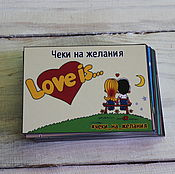Сувениры и подарки handmade. Livemaster - original item Checks desire Love is a Gift to the beloved/beloved. Handmade.