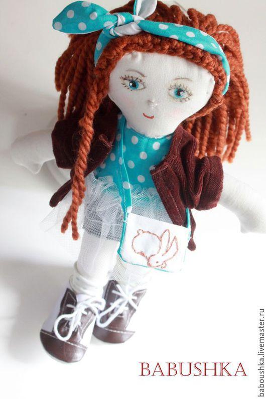 Человечки ручной работы. Ярмарка Мастеров - ручная работа. Купить SALE! Текстильная кукла Брунгильда. Handmade. Кукла, игровая кукла