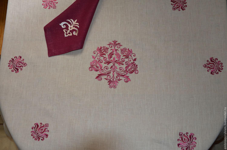 Tablecloth 'Baroque', Tablecloths, Ramenskoye,  Фото №1