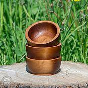 Для дома и интерьера handmade. Livemaster - original item Cedar wooden plates cedar bowls 3 pieces TN9. Handmade.
