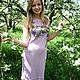 """Платья ручной работы. Платье летнее """"Райский сад"""". Виктория. Интернет-магазин Ярмарка Мастеров. Цветочный, платье, нарядное платье"""
