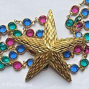 Винтаж handmade. Livemaster - original item Star brooch BSK. Handmade.