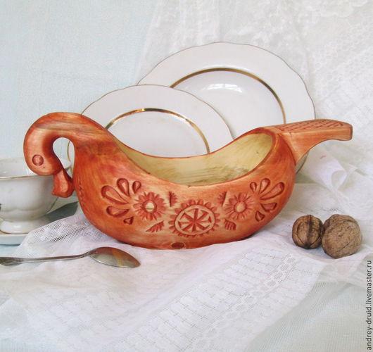 Братина купить, братина из дерева, деревянная братина, деревянная посуда.