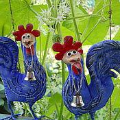 Куклы и игрушки ручной работы. Ярмарка Мастеров - ручная работа Птица счастья 2017 (Петухи-символ 2017 года). Handmade.