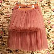 Работы для детей, ручной работы. Ярмарка Мастеров - ручная работа Комплект Family look фатиновые юбки для мамы и дочки. Handmade.