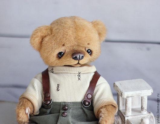Мишки Тедди ручной работы. Ярмарка Мастеров - ручная работа. Купить Николас мишка тедди23см. Handmade. Оранжевый, тедди мишка