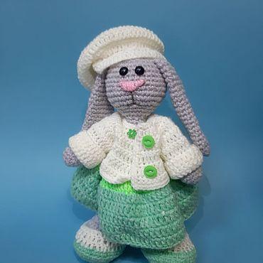 Куклы и игрушки ручной работы. Ярмарка Мастеров - ручная работа Игрушки: Зайка  Дженифер. Handmade.