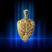 Фен-шуй и эзотерика handmade. Livemaster - original item The amulet Shield of divine wisdom. Handmade.