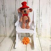 Куклы и игрушки ручной работы. Ярмарка Мастеров - ручная работа Мишка-малышка. Handmade.