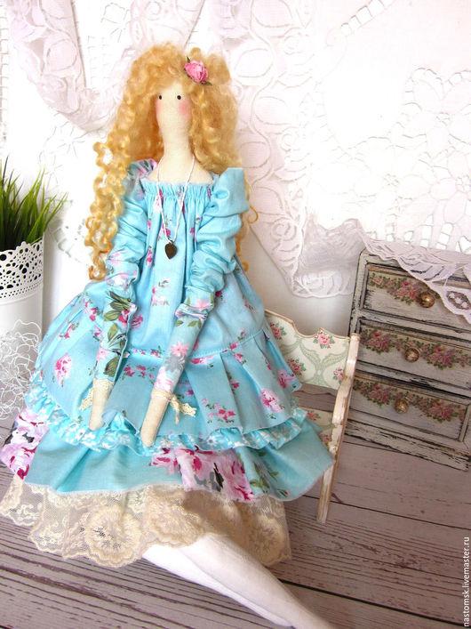 Куклы Тильды ручной работы. Ярмарка Мастеров - ручная работа. Купить Кукла текстильная интерьерная в стиле Тильда Эльза. Handmade.