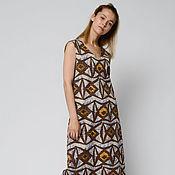 Одежда handmade. Livemaster - original item Summer dress with ornament