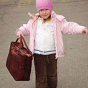 Сумки и аксессуары handmade. Livemaster - original item Handmade leather handbag art 97 Persona. Handmade.