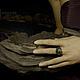 """Кольца ручной работы. Кольцо """"Duwamish"""". BlackTree (InSilver). Ярмарка Мастеров. Натуральные камни, индеец, insilver"""