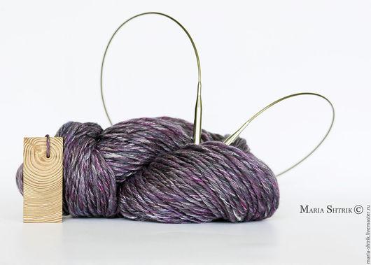 Вязание ручной работы. Ярмарка Мастеров - ручная работа. Купить Пряжа №13. Handmade. Арт пряжа, толстая пряжа