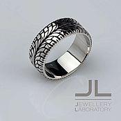 Украшения handmade. Livemaster - original item Silver ring in the form of a car tire, wheel, for the driver. Handmade.