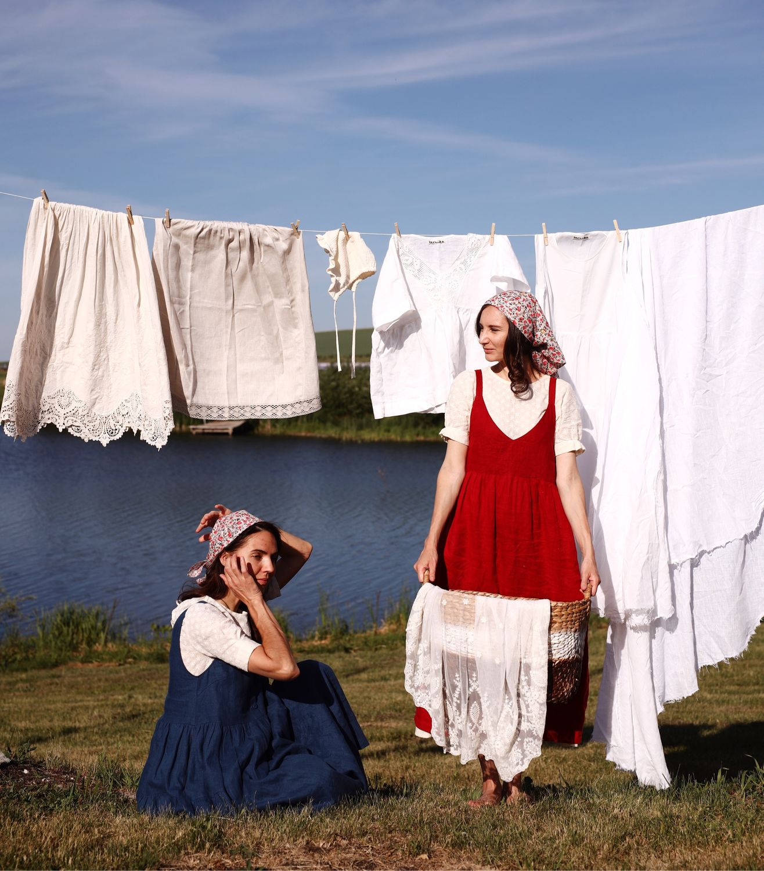 Сарафан-куютка из льна, Платье, Бийск,  Фото №1