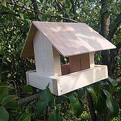 """Для домашних животных, ручной работы. Ярмарка Мастеров - ручная работа Кормушка для птиц """"ЭКО-Весна"""". Handmade."""