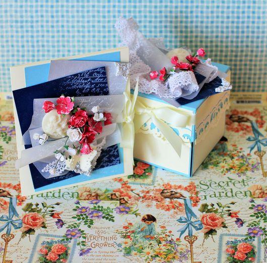 Подарки на свадьбу ручной работы. Ярмарка Мастеров - ручная работа. Купить Открытка  коробочка для денежного подарка (на свадьбу). Handmade.
